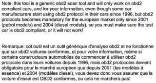 OBDLINK OBD2 EOBD SCAN TOOL + Mercedes 38 pin adapter