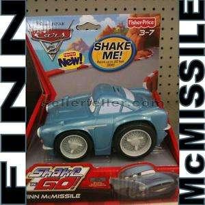 NEW Disney Pixar CARS 2 Shake N GO   FINN McMISSILE