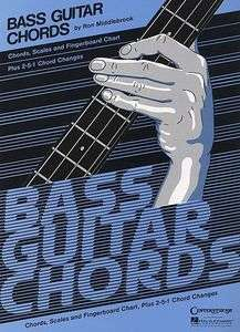Bass Guitar Chords   Chart   HL 000073