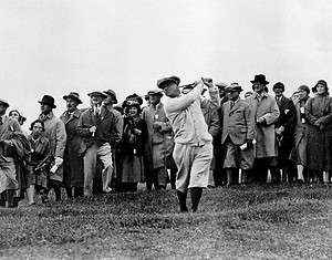 GENE SARAZEN PGA PRO GOLF AUGUSTA NATIONAL MASTERS 1932 BRITISH OPEN