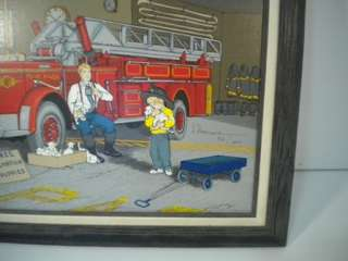 Hargrove painting FIREFIGHTER'S BEST FRIEND 1991