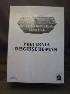 He Man Masters of Universe Classics MOTU PRETERNIA &map
