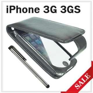 Leder Tasche Handytasche Case +Stift für iPHONE 3G/3GS