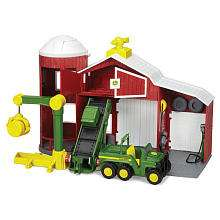 John Deere Power Drive Barn Playset   Learning Curve 1001175   eToys