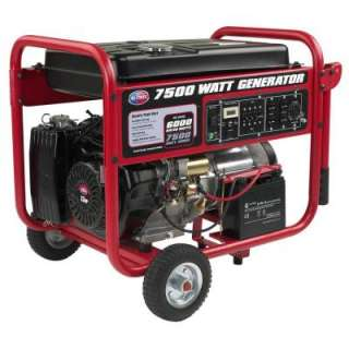 All Power 7500 Watt 13 HP Portable Generator with Mobility Cart