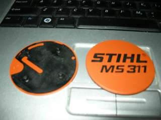 MS 311, MS311 Stihl Chainsaw Model Tag, Name Plate *New*