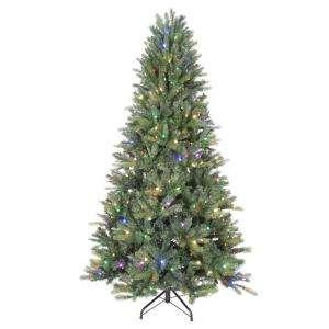 . LED Pre Lit Black Hills Tree Multi Color 18711HD