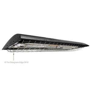 Designers Edge 620 Watt Universal Bulb Shoplight With Heater