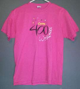 Curves 400 Workouts T Shirt (Pink)