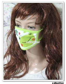 Kid Child Cute Lovely Cartoon Anti Dust Mouth Face Nose Mask NEW