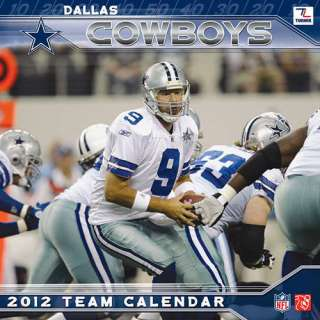 Dallas Cowboys 2012 Mini Wall Calendar