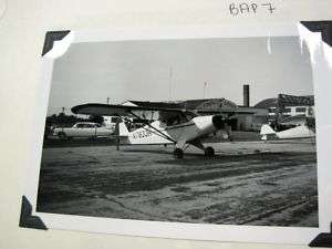 Vintage Airplane Photo B7 PIPER PA 12 SUPER CRUISER