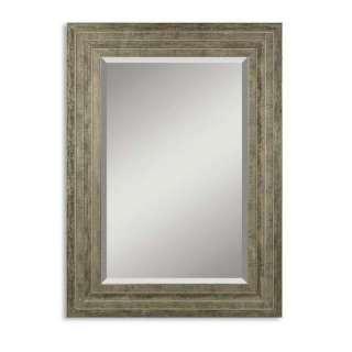 25 1/2 In. Wood Silver Leaf Framed Mirror 11217 B