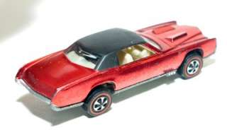 1968 Mattel Hot Wheels CUSTOM ELDORADO Redline Red Line