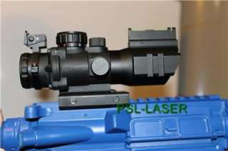 Military Grade 4X32 Dual Illuminated Rifle Scope With backup back up