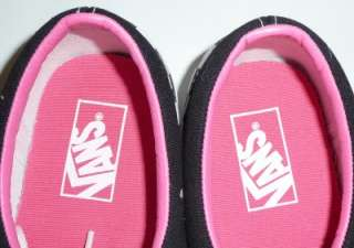 Vans Authentic Era Multi Check Checkerboard Pink/Black Shoes New In