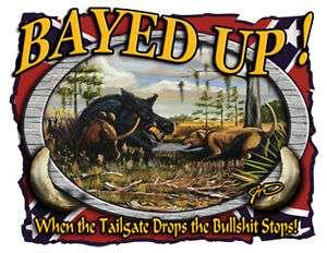 Boar Hog Hunting T shirt,Hog Dogging shirt,Bayed Up