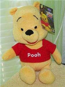 My Friends Tigger & Pooh *Pooh* 9 Plush NWT