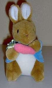 Peter Rabbit Plush Eden Toys Frederick Warne Plushie Beatrix Potter