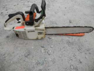 009 QUICKSTOP CHAIN SAW 14 BAR 36.6 cc TWO CYCLE GAS ENGINE