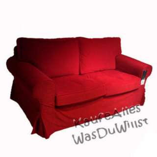 ... IKEA EKTORP Sofa Bezug LEABY Rot Viele Modelle ...