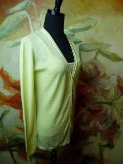 995 NWT BURBERRY Prorsum Womens Cashmere Sweater Blouse Medium