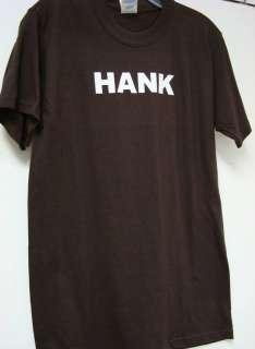 Hank Williams Sr. T shirt Brown Hank New