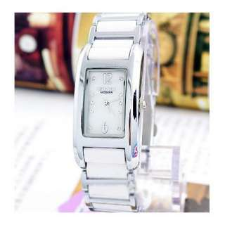 Hight ElegantNew Lady Women White Black Bracelet Wrist Watch Gift
