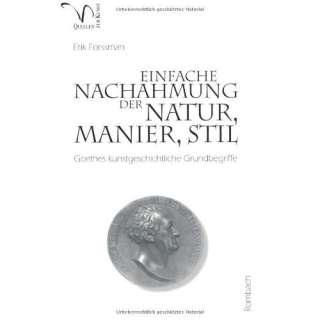 kunstgeschliche Grundbegriffe: .de: Erik Forssman: Bücher