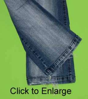 Azzure sz 27 x 31 Stretch Womens Juniors Blue Jeans Denim Pants FM12