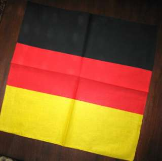 ca 50 x 50 cm farbe schwarz rot gold gelb motiv deutschland flagge
