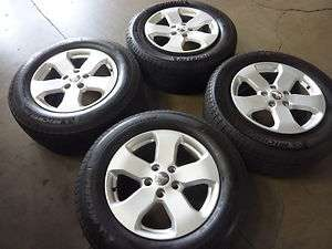 EQUIPMENT 2012 JEEP GRAND CHEROKEE 18 ALLOY TIRE WHEEL SET