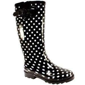WOMENS WELLIES WELLINGTON RAIN SNOW BOOTS LADIES SZ 3 8