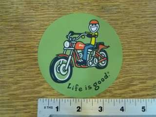 Life is Good Motorcycle Sticker Decal