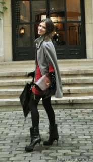 Hot Sale Lady Camel Wool Cape / Fashion Poncho Coat