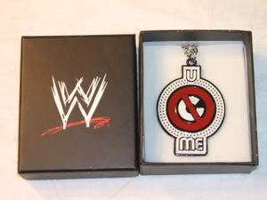 JOHN CENA U Cant See Me Silver Pendant Necklace Chain