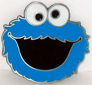 CARTOON CHARACTER COOKIE MONSTER FUNNY MUST HAVE NEW BELT BUCKLE