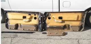 BMW E36 2dr Front Door Panel Pair Tan Beige 92 99 318is 325is 328is