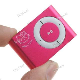 Hello Kitty Clip  Player Gift Set for Lady Girl Kids M 69401