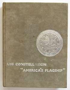 USS CONSTELLATION CV 64 WESTPAC CRUISE BOOK 1985