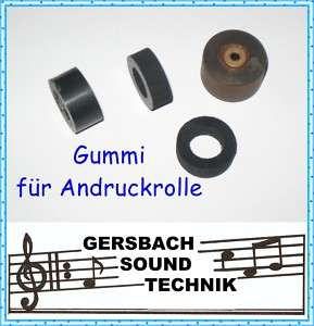 Gummi f. Andruckrolle Pinch roller Philips N 4420