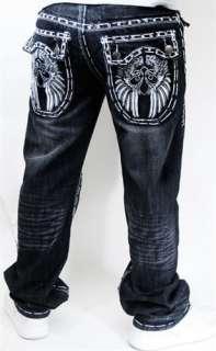 Kayden K Hip Hop Urban Premium Jeans LA Fashion Street Club Wear Reve
