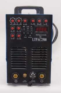 250A AC ALUMINUM TIG ARC PULSE WELDER 60A Plasma Cutter