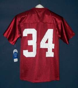 Alabama Crimson Tide #34 Russell Athletic Team Issue football jersey