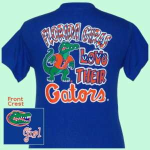 Florida Girls Love Their Gators Youth T shirt