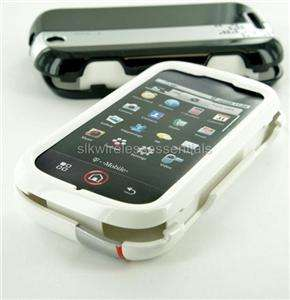 OEM TMobile Motorola Cliq MB200 White Snap On Shell Case Cover