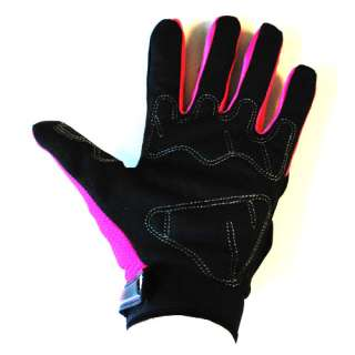 NEW Motorcycle Motocross MX ATV Dirt Bike Racing Textile Gloves Pink