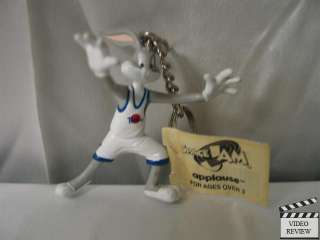 Bugs Bunny Space Jam keychain, Looney Tunes; Applause
