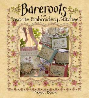 Favorite Embroidery Stitches Project Book   Click Image to Close