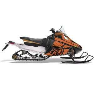 Silver Star AMR Racing Fits: Arctic Cat F Series Snowmobile Sled